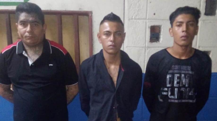 CAPTURAN A 3 PERSONAS ACUSADOS DE HOMICIDIO Y AGRUPACIONES ILÍCITAS EN SOYAPANGO