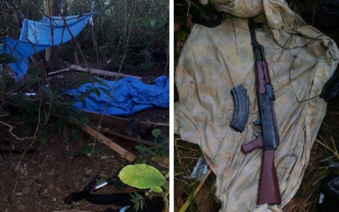 Mueren dos pandilleros esta madrugada  en enfrentamiento en Morazán.