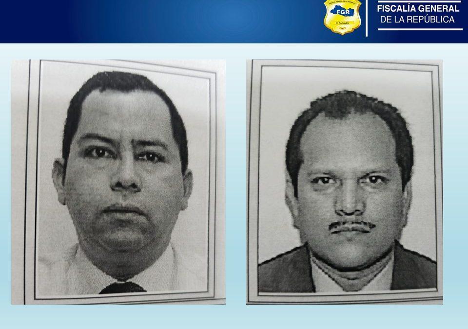 Fiscalia ordeno la captura de dos colaboradores de la Corte de Cuenta