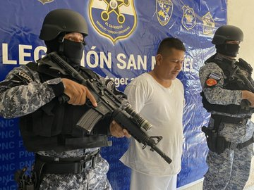 capturan a peligroso pandillero armado gracias a la efectividad policial en San Miguel