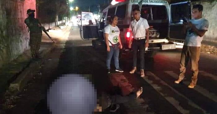 Anciano muere atropellado por un motorista del transporte publico
