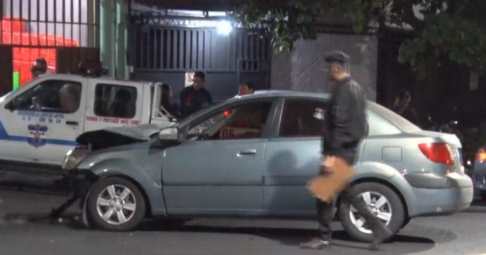 MUJER EN ESTADO DE EBRIEDAD OCASIONA ACCIDENTE.