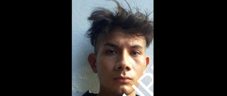 Sujeto es arrestado por robar materiales de construcción en Sonsonate.