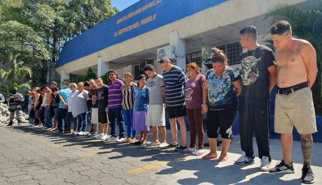 Operativo Casa Segura en Soyapango deja como resultado treinta capturados
