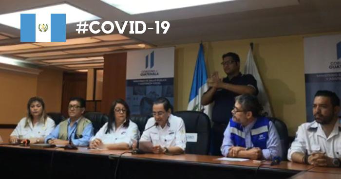 GUATEMALA CONFIRMA PRIMER CASO DE MUERTE POR COVID-19