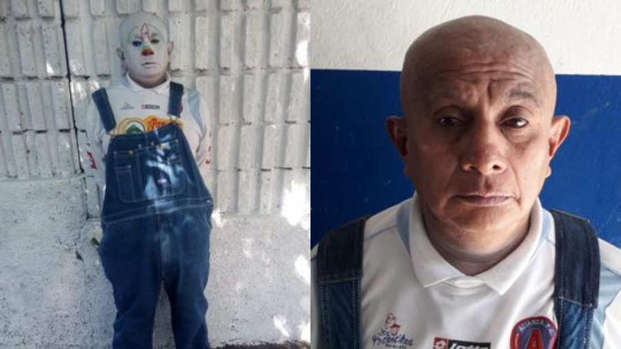 PAYASO DETENIDO CUANDO RECOGÍA LA RENTA EN EL MERCADO CENTRAL DE SAN SALVADOR
