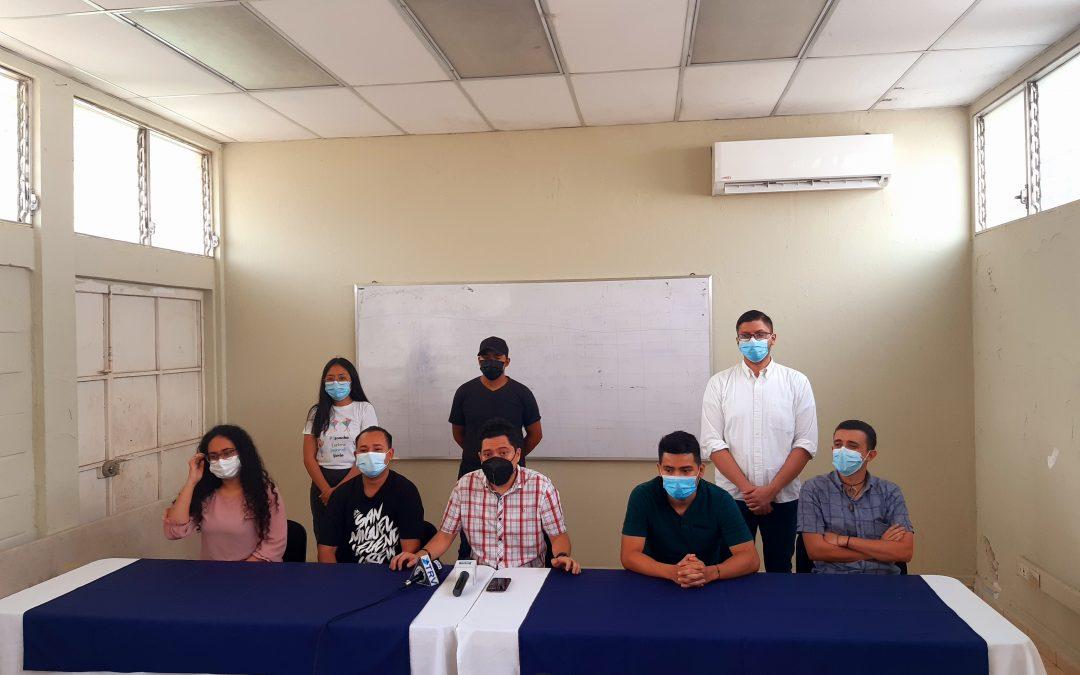 Presentación de la Red Departamental de Organizaciones Juveniles de San Miguel