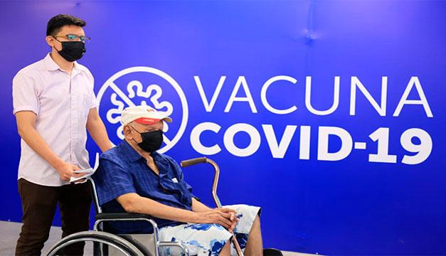 El 14% de salvadoreños a sido inmunizado para el covid-19