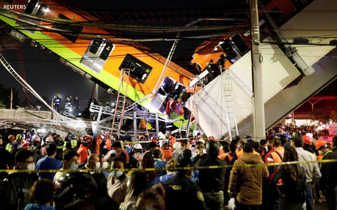 México: al menos 23 muertos y 70 heridos tras colapso de paso elevado del Metro  PorVoz de América – Redacción
