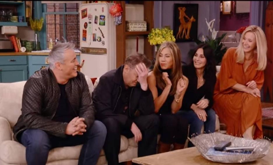 Nostalgia fue lo que causó la revelación del tráiler del reencuentro de 'Friends'